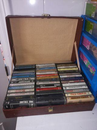 cintas antiguas cassettes
