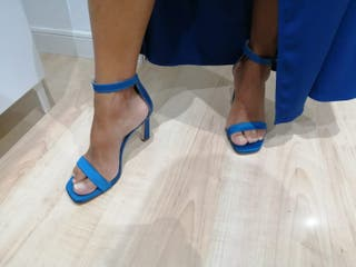 Zapatos de fiesta de color azul Martnelli