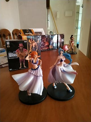 ONE PIECE / DX GIRLS SNAP COLLECTION - SET 2 FIGUR