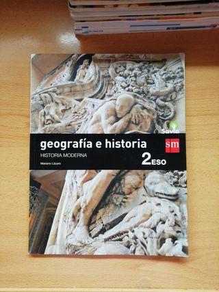 GEOGRAFÍA E HISTORIA. HISTORIA MODERNA. 2ESO. SM.