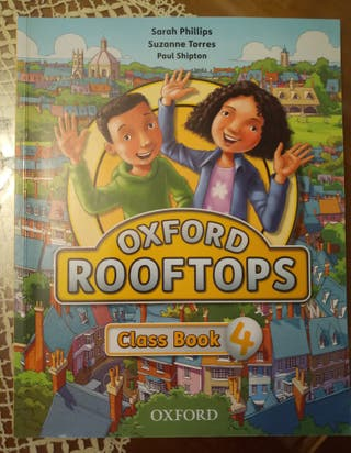 Libro de inglés Oxford Rooftops Class Book 4°