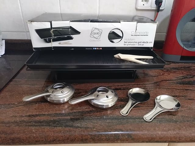plancha grill Nueva