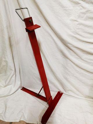 Atril portátil antiguo metálico para pintura