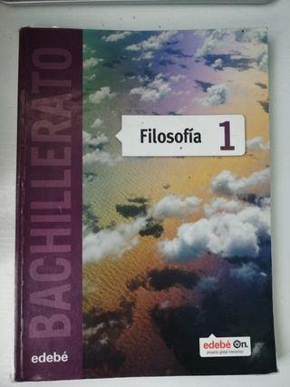 Libro Filosofía 1 bachillerato editorial edebé