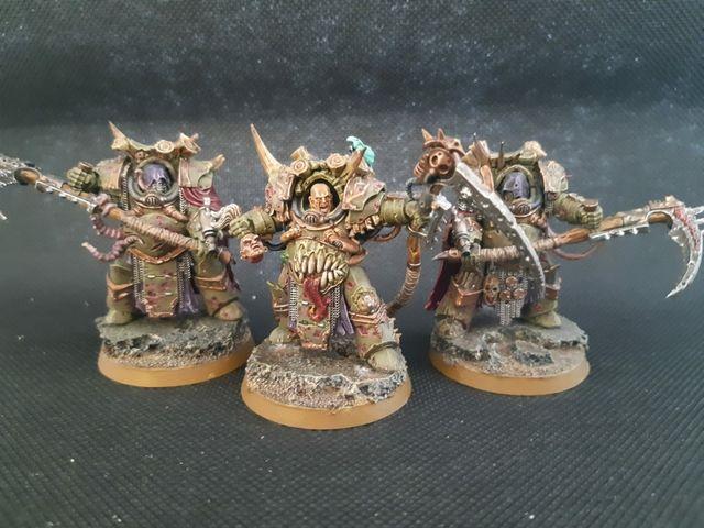 """Warhammer 40k Death Guard """"Deathshroud Bodyguard"""""""