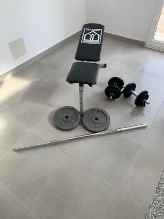 Banco + pesas