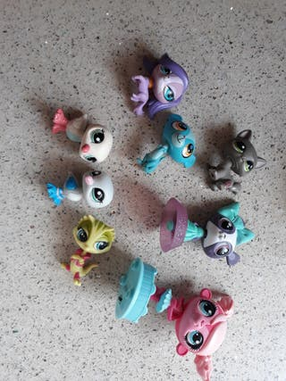 lote de mascotas littlest pet shop