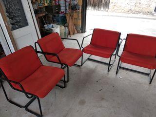 Sillones sillas de jardín u oficina