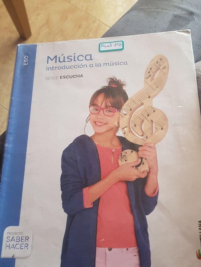 libro musica Santillana saber hacer