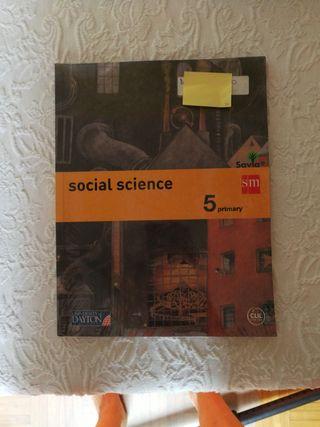 libro Social science de 5 de primaria