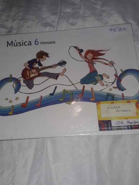 libros inglés y música 6