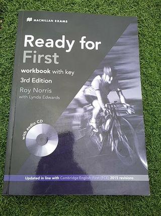 Libro de inglés Ready for First