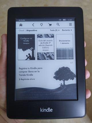 Ebook Kindle paperwhite 5a gen con luz