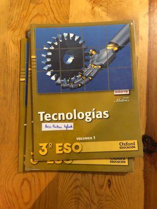 Libro tecnología 3ESO Oxford