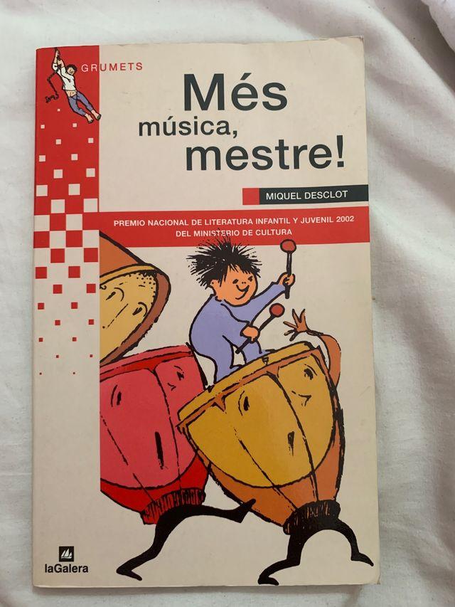 LIBRO ' Més música, mestre!'