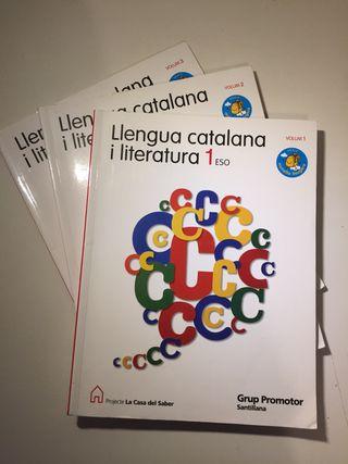 Libros de llengua catalana i literatura 1ESO