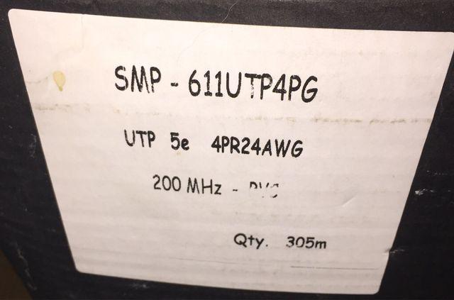 30 céntimos metro , cable de red ethernet LAN