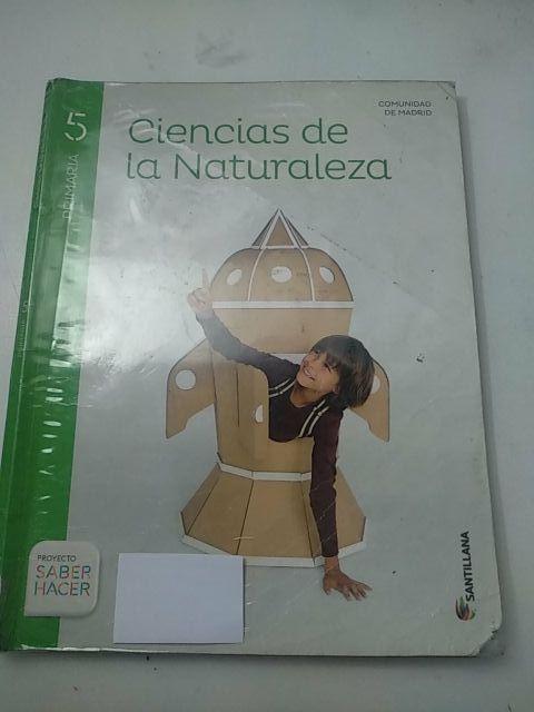Libro ciencias de la naturaleza 5° primaria