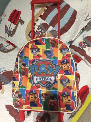 Maleta / mochila escolar pequeña