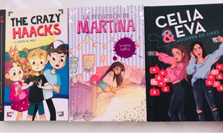 The crazy haacks/ la diversión de Mart/ celia eva