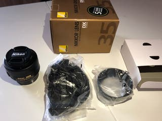 Objetivo Nikon 35mm F1.8