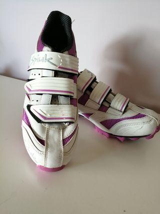 zapatillas ciclismo mtb Spiuk mujer