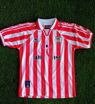 camiseta Athletic Club de Bilbao 1998 talla L