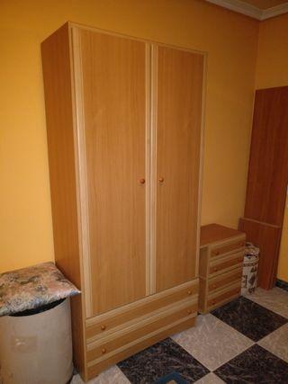 Armario dormitorio 2 puertas