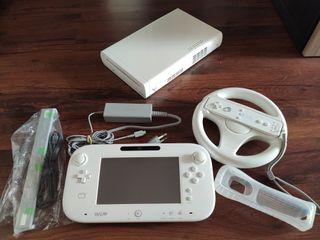 Consola WII U con 128GB y juegos