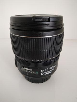 Objetivo Canon 15-85mm