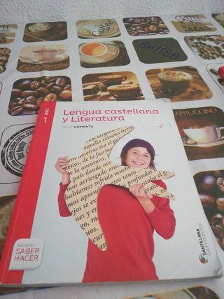 libro de 1º de la ESO castellano