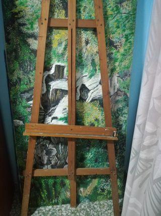 caballete pintor