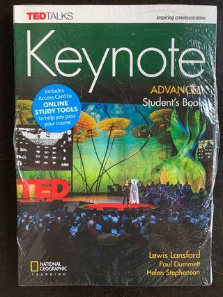 Libro de inglés Keynote advanced