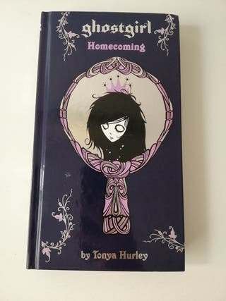 libro juvenil en inglés Ghost girl Tonya Hurley