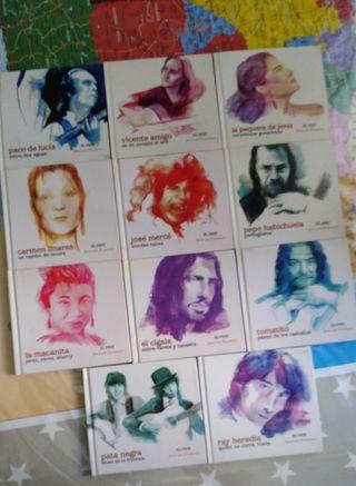 Disco de Colección CD flamenco (el país)