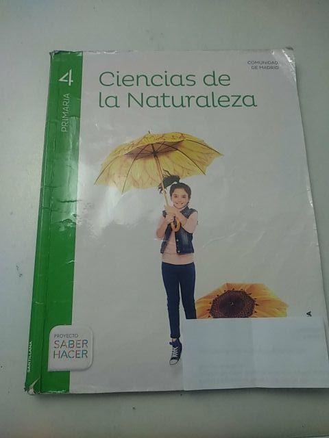 Libro Ciencias de la Naturaleza 4° primaria