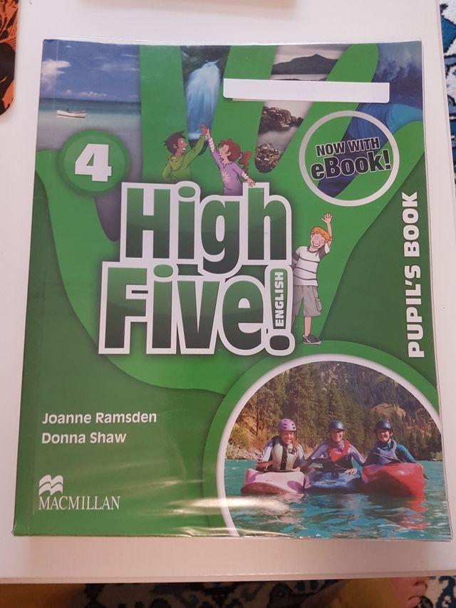 Libro de inglés High Five 5 primaria