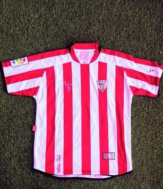 camiseta Athletic Club Bilbao matchworn talla M