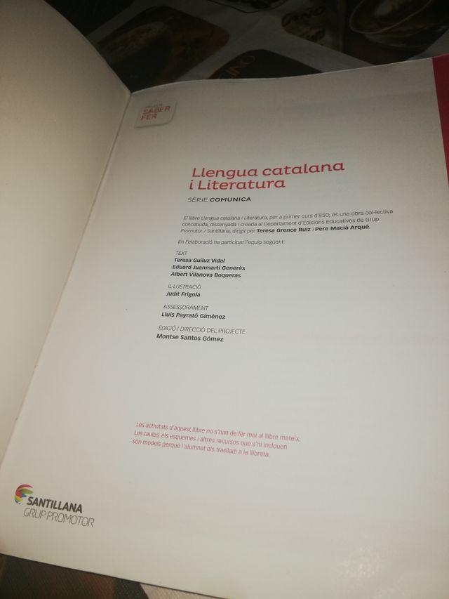 libro de 1º de la ESO