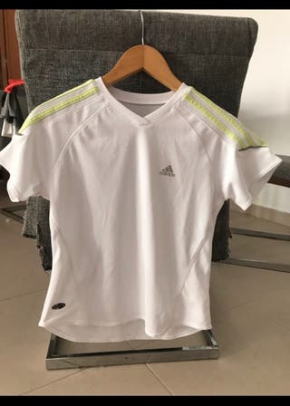 Camiseta blanca adidas