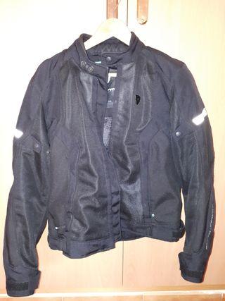 chaqueta moto mujer verano