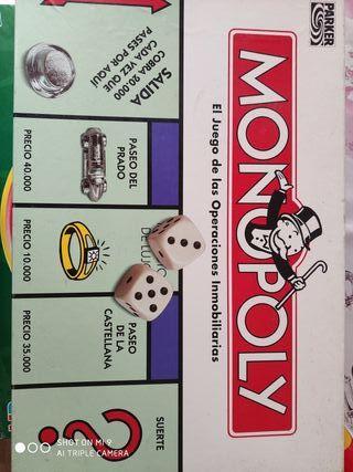 Juego de mesa Monopoly clasico