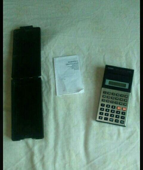 calculadora científica vintage