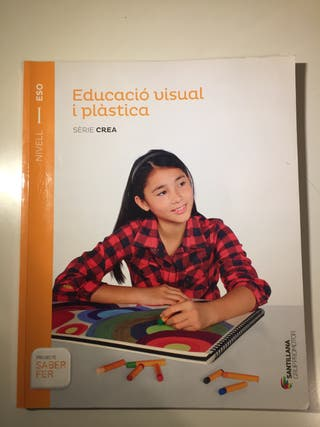 Libro educació visual i plàstica 1ESO