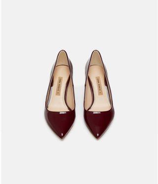 Zapatos tacón ancho ZARA