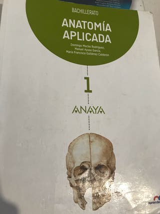 Libro anatomía anaya