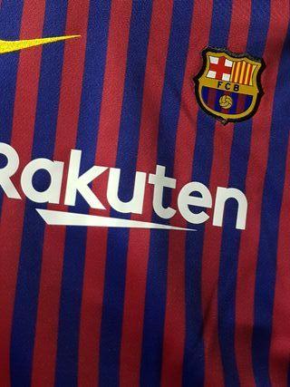 conjunto FC Barcelona 18/19 talla 5-6 años