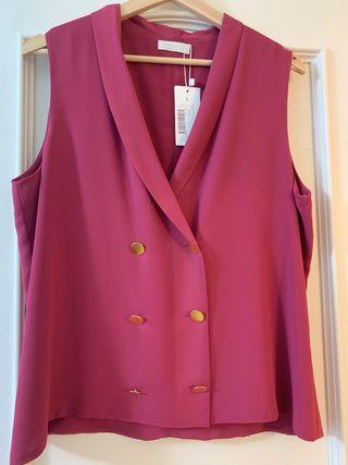 Blusa color frambuesa
