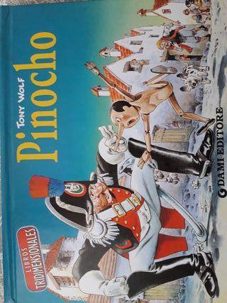 Libro infantil Pinocho
