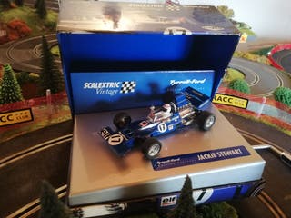 Tyrrell Ford scalextric vintage
